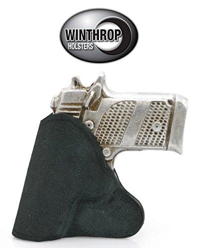 Kahr CM9 Leather Pocket Gun Holster Black - 0287