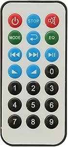 Remote Control A59056 For Car Stereo, Silver Black