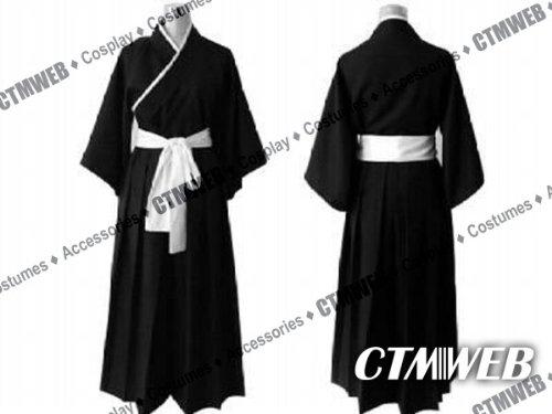 CTMWEB-Bleach-Cosplay-Costume-Ichigo-Kurosaki-Kimono-Black