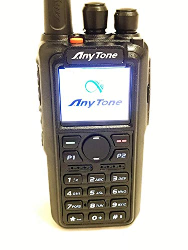 AnyTone AT-D868UV GPS Version II updated firmware Upgraded 3100mAh battery Dual Band DMR Analog 144 480 MHz Radio