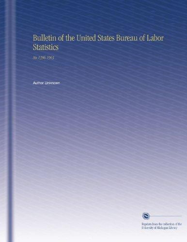 Bulletin Of The United States Bureau Of Labor Statistics [Pdf/ePub] eBook