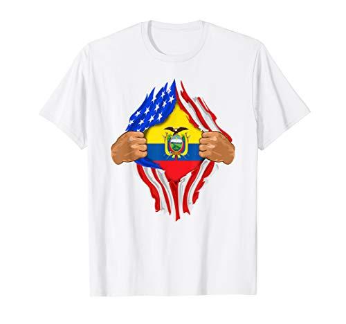 - Ecuadorian Blood Inside Me T-Shirt   Ecuador Flag Gift