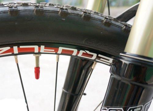 MagiDeal 5 St/ück Schwarz Fahrrad Ventilkappen Aluminium Presta Felgen Reifen Vorbau Luft Ventilkappen Staubschutzh/ülle von SamGreatWorld