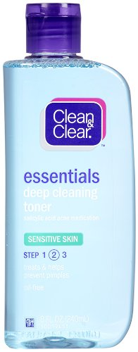Clean & Clear Sensitive Skin Deep Cleaning Astringent 240 ml J&J CONSUMER INC