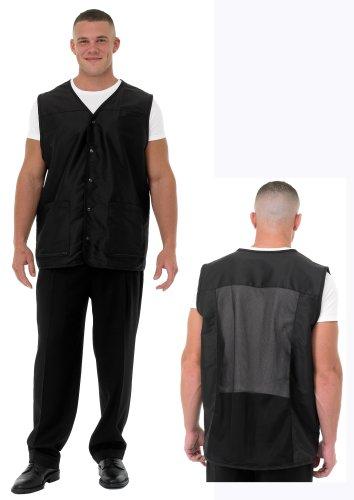 Betty dain vented black extra extra us499 for Spa uniform amazon