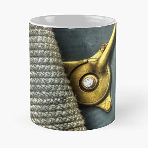Run Rich Lever Brass Mugs 11 Oz Best Gift