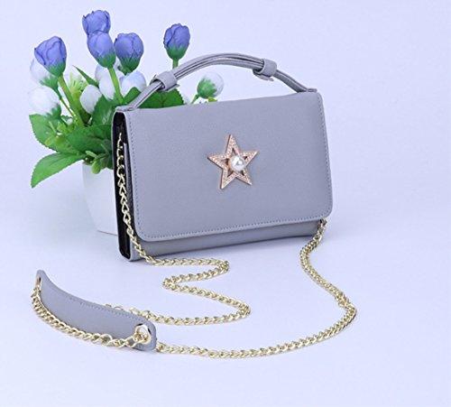 さんのショルダーバッグ2018春と夏の新しいファッション野生の女性のチェーンバッグポータブル小さな袋ZYXCC