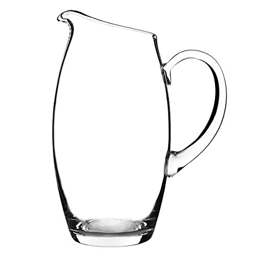 Luigi Bormioli 94100/01 Crescendo Pitcher, 76 oz, Clear