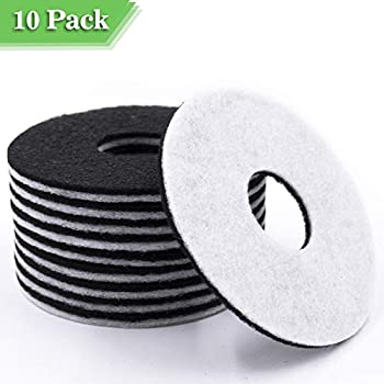 PAPIFEED Cat Water Fountain Filter, 10 Packs Filters for Cat Dog Automatic Dispenser, Premium Activated Carbon Replacement Filters, Compatible with ...