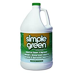 Simple Green 13005CT Industrial Cleaner & Degreaser, Concentrated, 1 gal Bottle