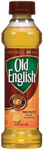 Old English Furniture Polish: Lemon Oil 8 OZ.