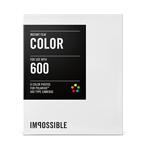 Impossible Project Color Fim For Polaroid 600-Type Cameras, 5-Pack by Focus Camera