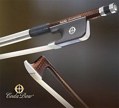 CodaBow Diamond NX Carbon Fiber Viola Bow
