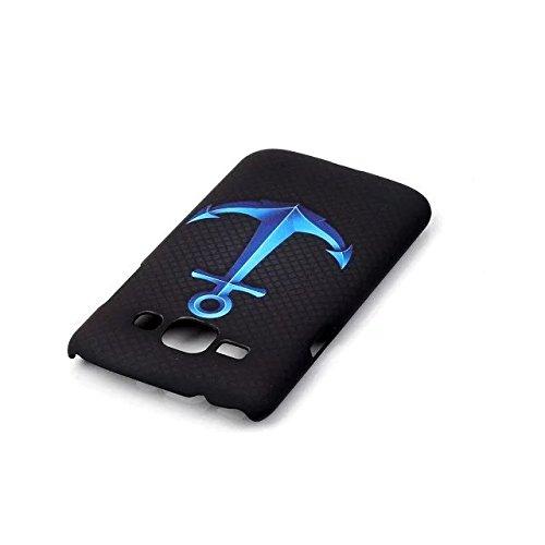 para Galaxy J1 4.3 (2015) Case Cover-Sunroyal®[Anti-Scratch] Ultra Thin Fit PC Premium Funda Carcasa Plástico Dura Concha Alta Calidad Sleeve Rígida Caso Parachoques Bumper Flexible Cáscara Shell Cub A-03