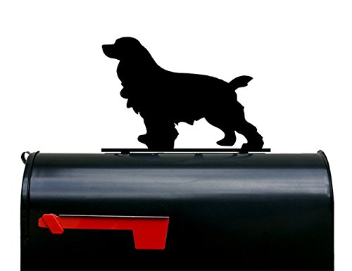 Cocker Spaniel Dog Mailbox Topper / Sign by NewnanMetalWorks