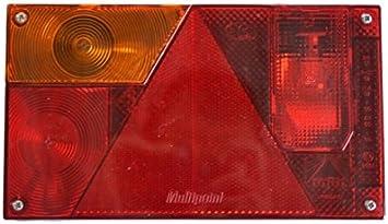 Asp/öck Multipoint 1 Pkw Anh/änger R/ückleuchte R/ücklicht 24-5200-007 rechts