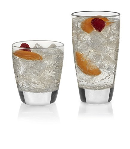 Libbey Classic 16-piece Drinkware Glass - Durable Glasses