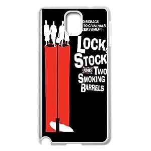 Samsung Galaxy Note 3 Cell Phone Case White_Lock Stock 2 Smoking Barrels Vluqa
