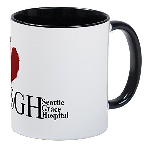 CafePress - Seattle Grace Hospital - Unique Coffee Mug, Coffee Cup