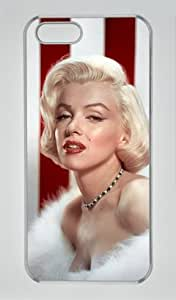 Sexy Marilyn Monroe M007 Iphone 5/5S Transparent Sides Hard Shell Case by eeMuse