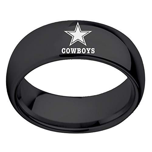 Sping Jewelry Dallas Cowboys Dome Football Ring