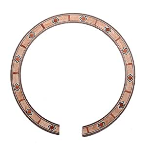 acoustic guitar soundhole rosette inlay guitar body project parts musicone musical. Black Bedroom Furniture Sets. Home Design Ideas