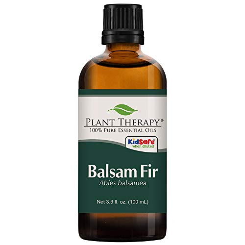 Plant Therapy Balsam Fir Essential Oil 100 mL (3.3 oz) 100% Pure, Undiluted, Therapeutic Grade (Fir Needle Essential Oil Blends Well With)
