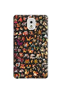New Style Fashionable TPU Design Plastic Hard Case for note3 note3