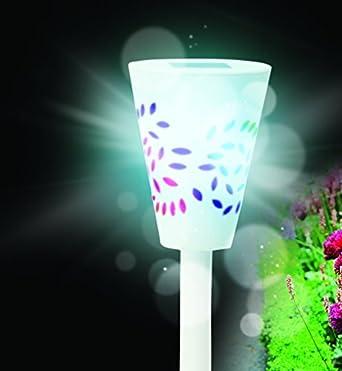 solarleuchte garten bunt 4er set solarleuchten solarlampen led farbwechsel kunststoff weia mit erdspiea und lichtsensor 41mg 9ynbzl sx34