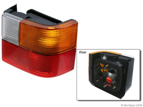 Light Tail Volkswagen Lens - ULO Volkswagen EuroVan Driver Side Replacement Tail Light Lens
