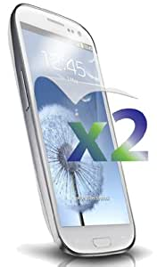 Exian SP-S3-Clear (2-Piece) Samsung Galaxy S3 Screen Protector Clear (2-Piece)-Retail Packaging