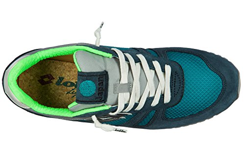 S8841 LOTTO Uomo Sneakers Blu Legenda fOq50p