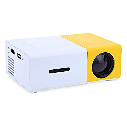 YG300 USB/SD/AV/HDMI Input Portable LED Projector Cinema Theater - 8