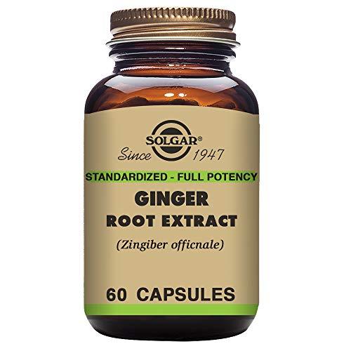 Cheap Solgar – Standardized Full Potency Ginger Root Extract, 60 Vegetable Capsules