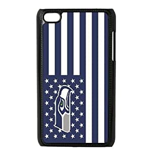 Ipod Touch 4 Phone Case Football NFL Seattle Seahawks Personalized Cover Cell Phone Cases GKZ174958