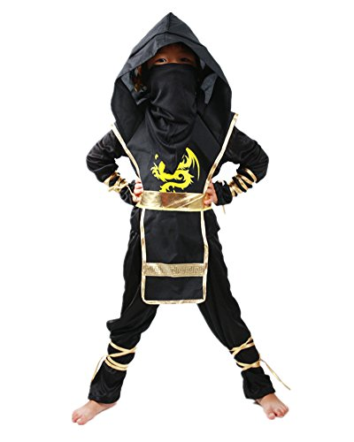 Sorrica Children's Halloween Costume Ninja Martial Art Warrior