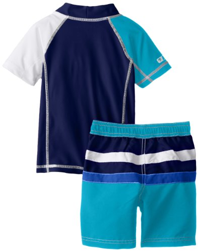 Nautica Boys 2-7 Toddler Rash-Guard Swim Set