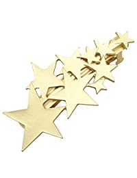 Q&Q Fashion Blogger Fav Shooting Star Hair Pin Clip Cuff Wrap Claw Snap Head Barrette Bridal