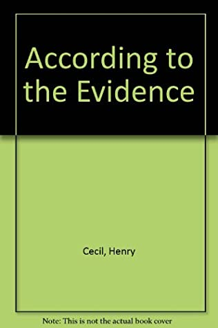 book cover of According to the Evidence