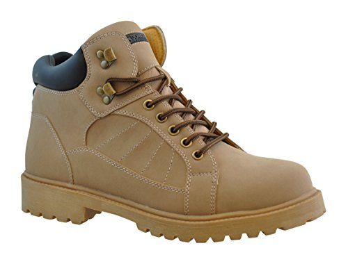 Donner Mountain Mens Iron Work Boot Wheat 10 5