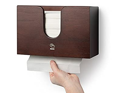 Incroyable Paper Towel Dispenser For Kitchen U0026 Bathroom   Wall Mount / Countertop  Multifold Paper Towel,