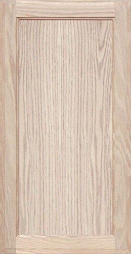 Unfinished Oak Square Flat Panel Cabinet Door by Kendor, ...