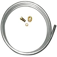 MENSI 1/4 Aluminum Tubing with Fittings M10x1 female and Male Length 1 meter
