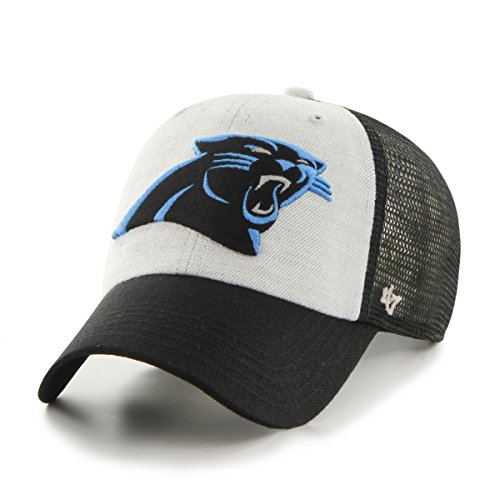 NFL Carolina Panthers Belmont Clean Up Hat, One Size, Black