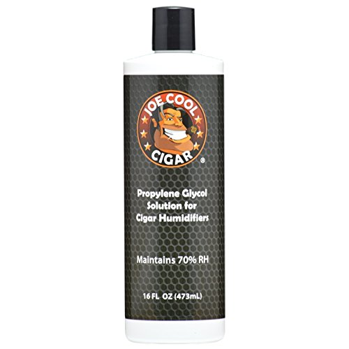 (Joe Cool Cigar Propylene Glycol Solution for Cigar Humidifiers (16 oz)