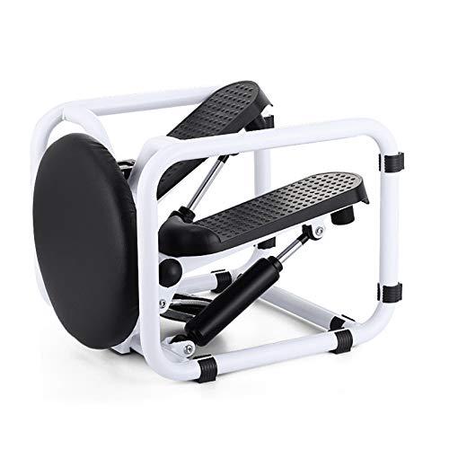 QHGao Stepper Desk Multifunctionele Mini Twist Stepping Machine, Trainer Voet Stepping Motion Cardio Oefening Machine…
