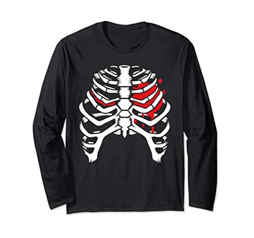 Torax esqueleto para noche de halloween 2019