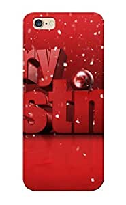 New Arrival Premium Iphone 6 Plus Case Cover With Appearance (merry Christmas )