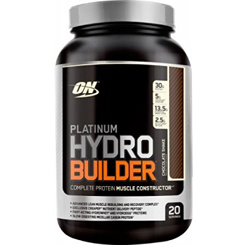 Optimum Nutrition Platinum Hydrobuilder Complete Muscle Constructor Protein | Chocolate...
