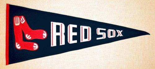 MLB Boston Red Sox Medium Throwback Pennant ()